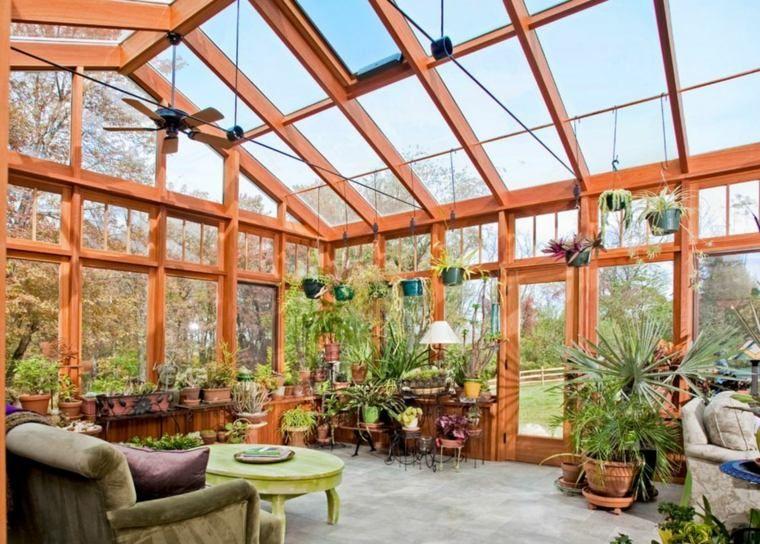 jardin d\'hiver veranda construction extension | Architecture ...