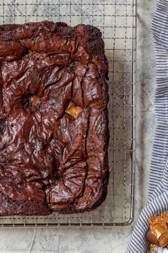 The BEST Rolo Brownies Recipe – Confessions of a Baking Queen