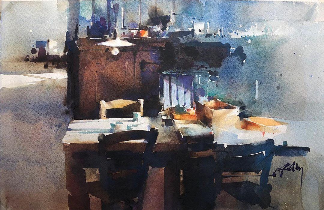 Marc Folly Watercolor Artist On Instagram Workshop France