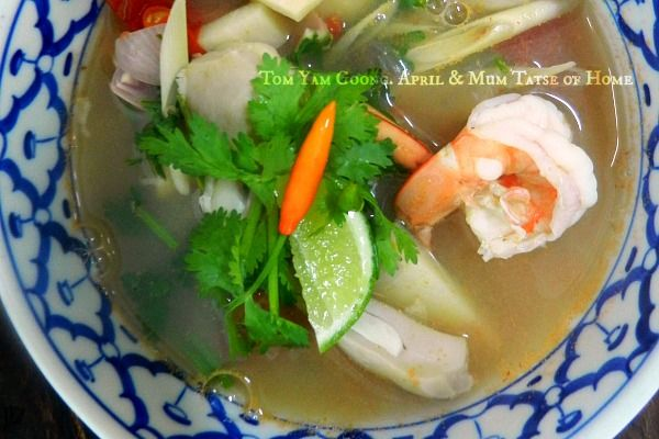 Tom Yam Goong - Clear Soup (My Family Work) - News - Bubblews