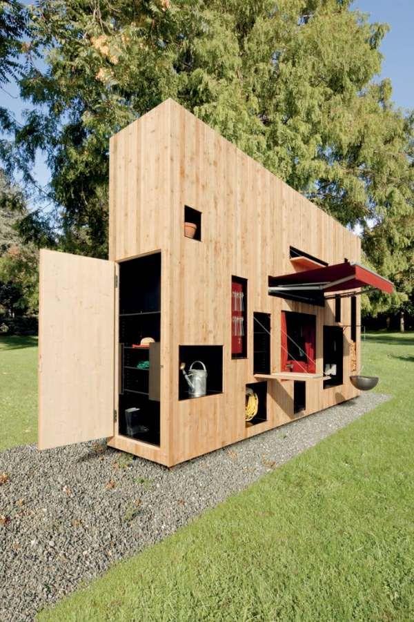 Abri de jardin de design convivial et esthétique en 26 idées ...