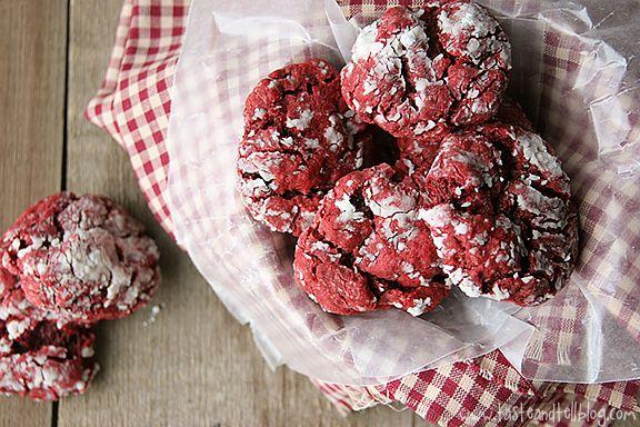 Red Velvet Gooey Butter Cookies Cake Mix Cookies Taste And Tell Recipe Gooey Butter Cookies Cake Mix Cookies Gooey Cookies