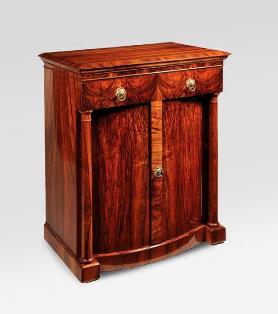 A handsome biedermeier two door commode furniture - Antike schlafzimmermobel ...