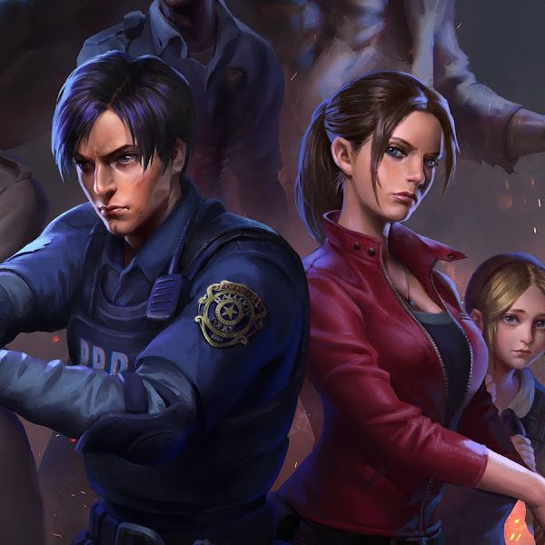 Resident Evil 2 Leon S Kennedy Claire Redfield Ada Wong