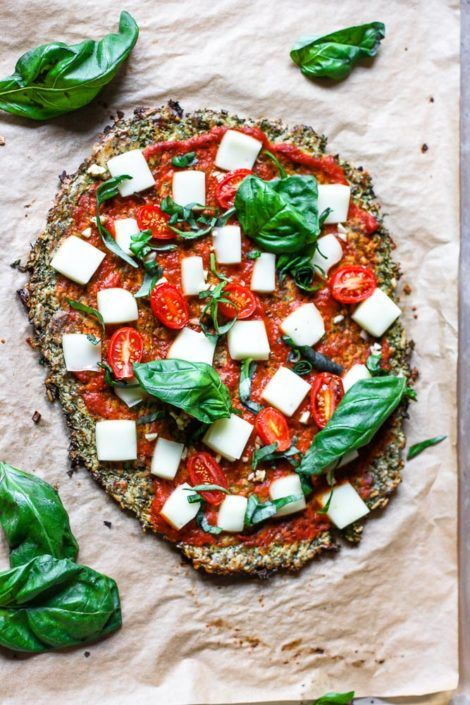 Brokkoli-Pizza-Krusten-Rezept  – healthy living.