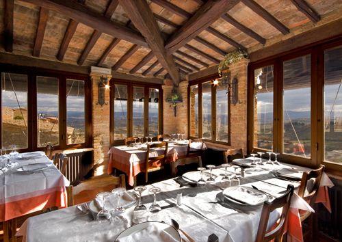 Ristorante Le Terrazze dell\'Hotel La Cisterna, San Gimignano ...