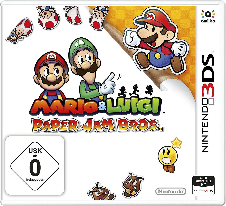 Mario Luigi Paper Jam Bros 3ds Fur 17 57 Amazon Nintendo Mario Und Luigi Nintendo 3ds