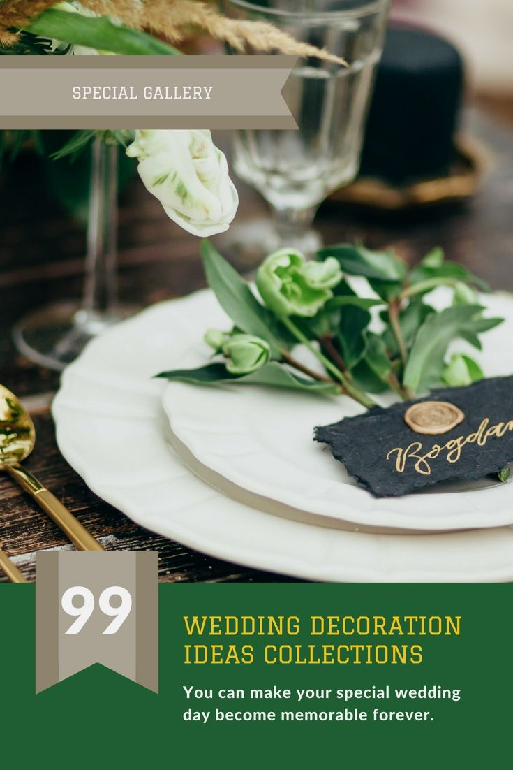 Wedding decoration designs  Liven Up Your Entire Wedding Event Decor With One Of These Lovely