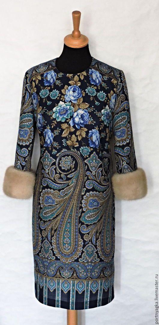 платья из палантинов и платков