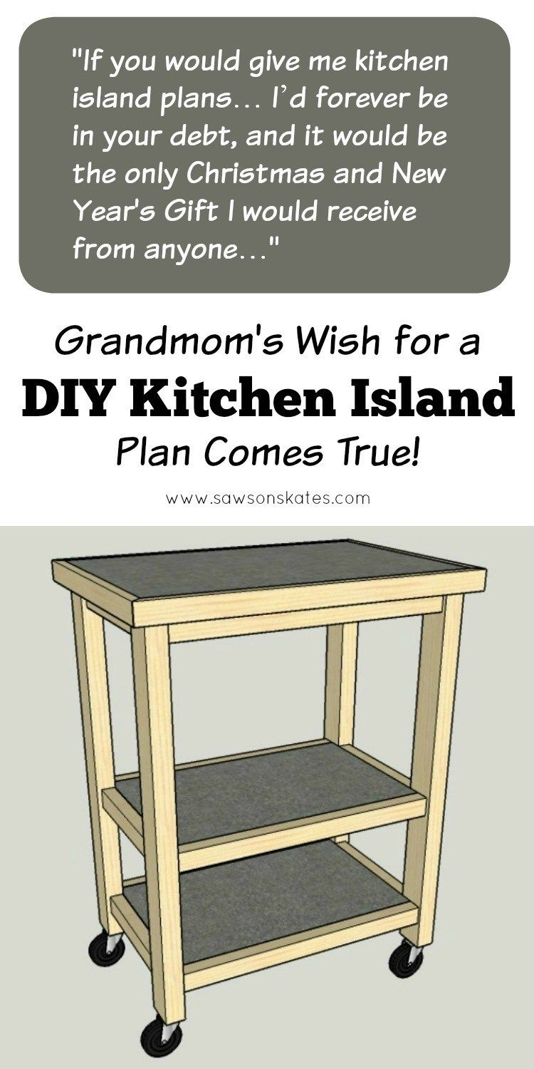 A DIY Kitchen Island Is A Reader's Only Wish (With Images