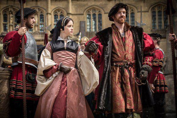 Anne Boleyn & Henry VIII in Wolf Hall (2015)