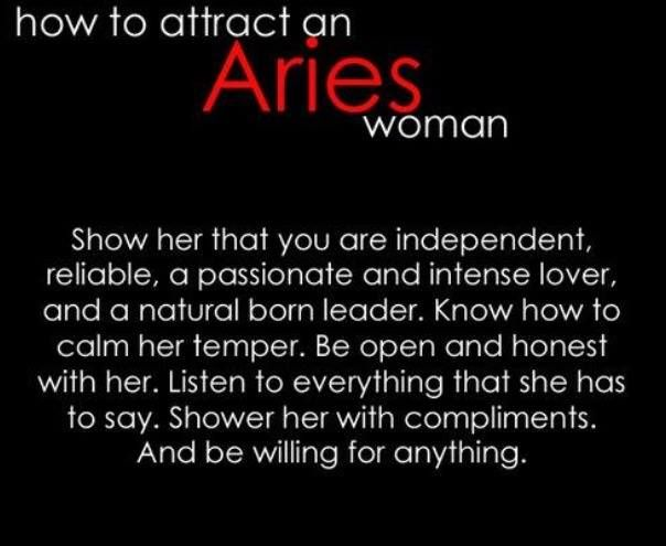 How To Impress An Aries Woman