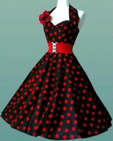 d8b2cc0dc16e6 vestidos de los años 50 mujeres - Buscar con Google