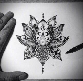 Lotus Dessin Tattoos Tattoos Lotus Flower Tattoo Design