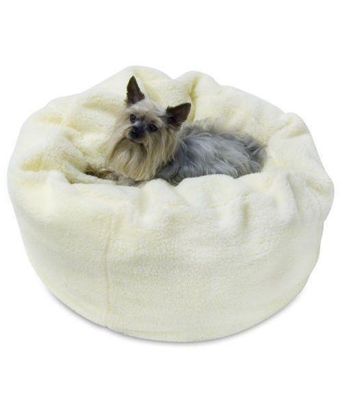 cozy pup!  Zeus Ball Dog Bed $74.99 #cozy #fallessentials