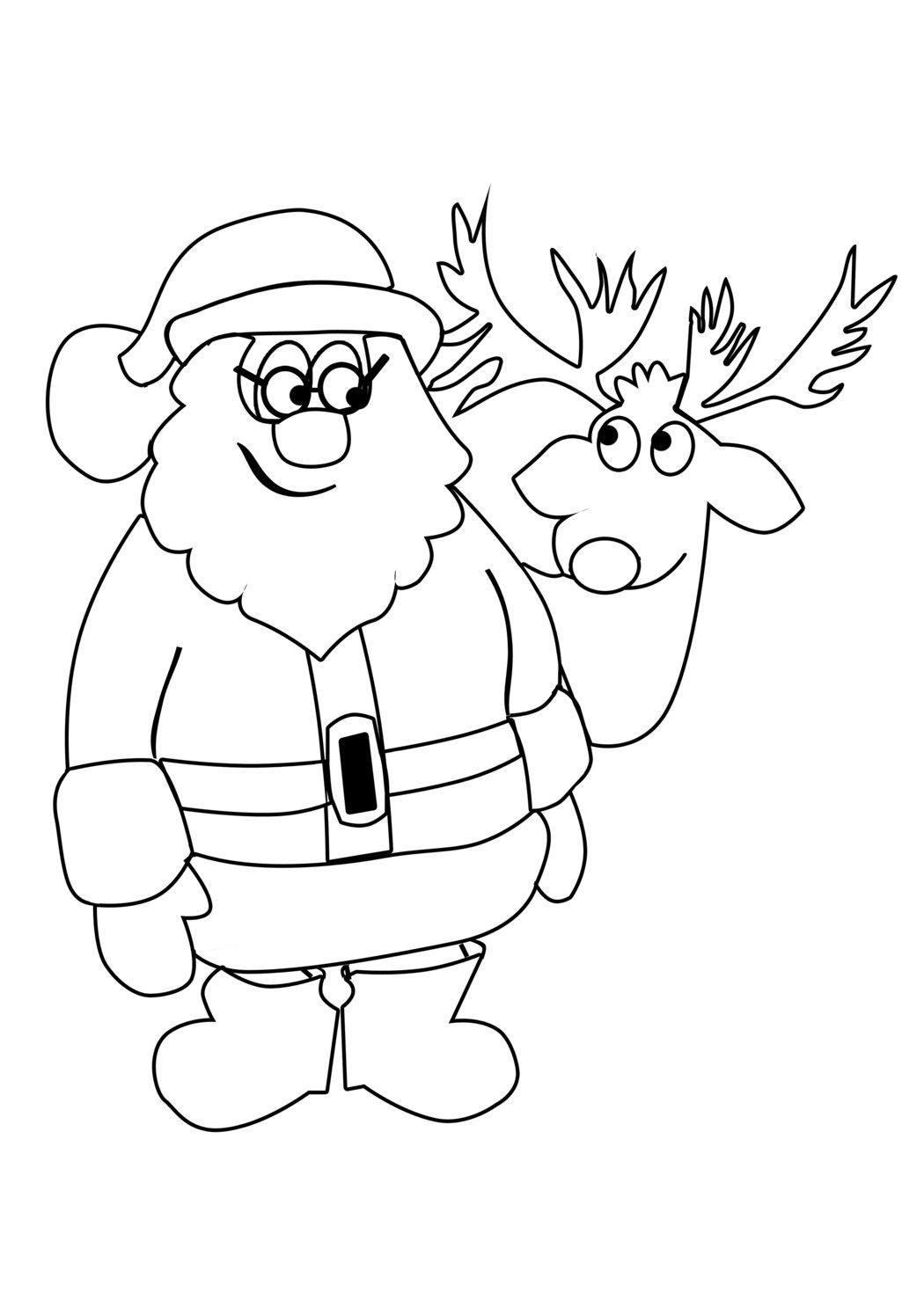 Weihnachtswichtel Malvorlagen