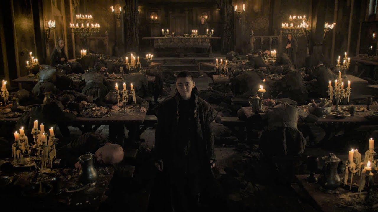Game Of Thrones 7x01 Arya Avenges The Red Wedding Game Of Thrones The Best Of Https Youtu Be Bswhpb Nnz Game Of Thrones Arya Red Wedding Game Of Thrones
