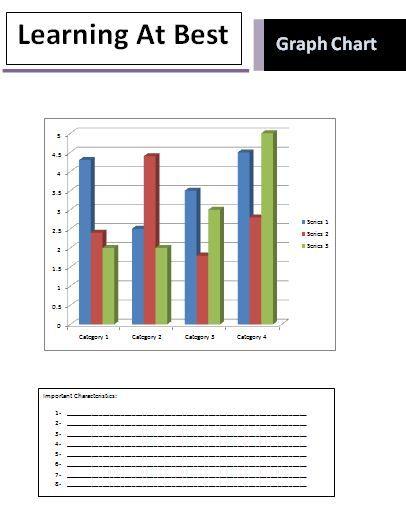 Graph Chart Templates | 3+ Printable PDF, Excel & Word ...