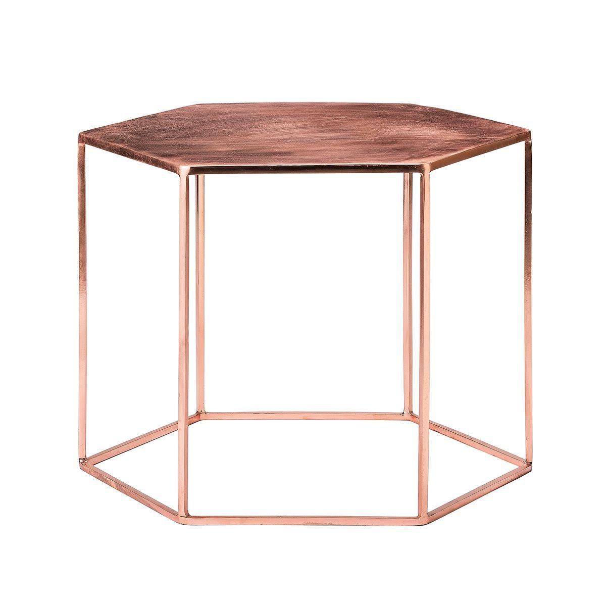 Bloomingville Hex Table Pentagonal