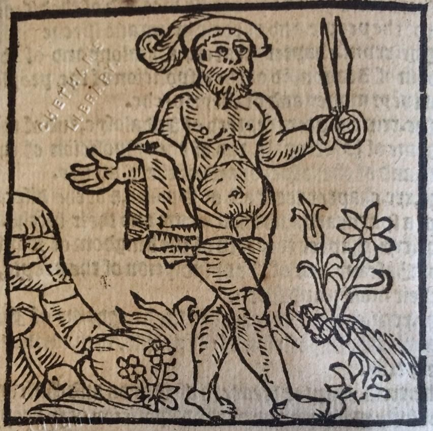 Natural disposition of an Englishman from Boorde's 1562 Introduction of Knowledge #WoodcutWednesday