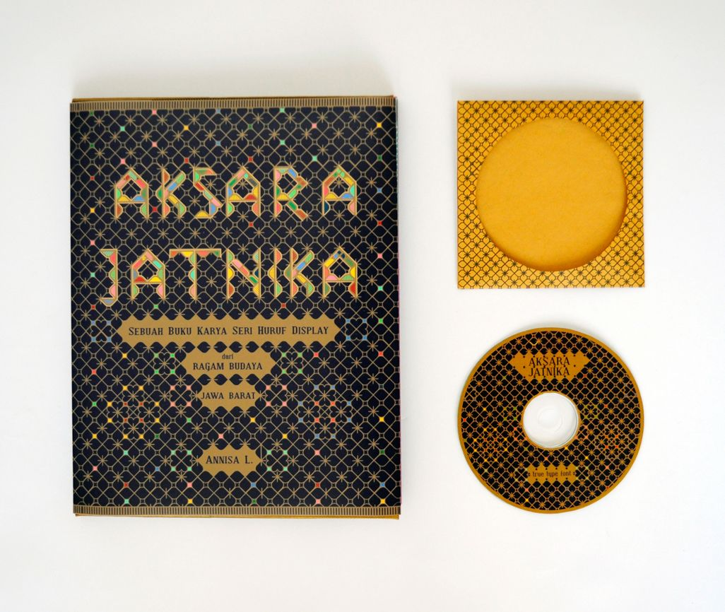 Aksara Jatnika A Specimen Book Of Sundanese Letters On Behance