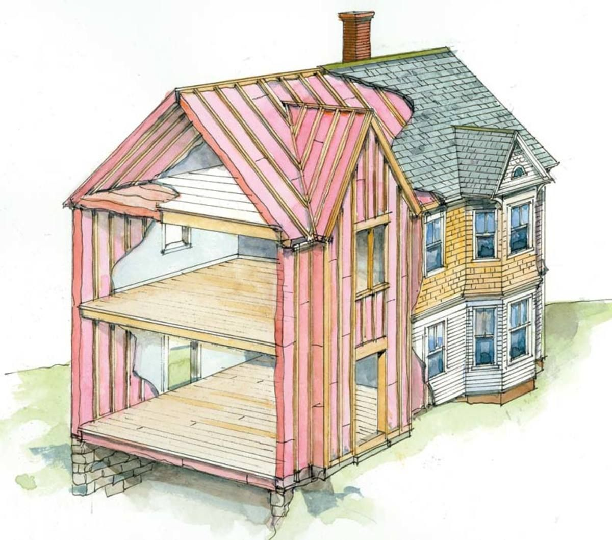7 Insulation Tips to Save Money & Energy Home insulation