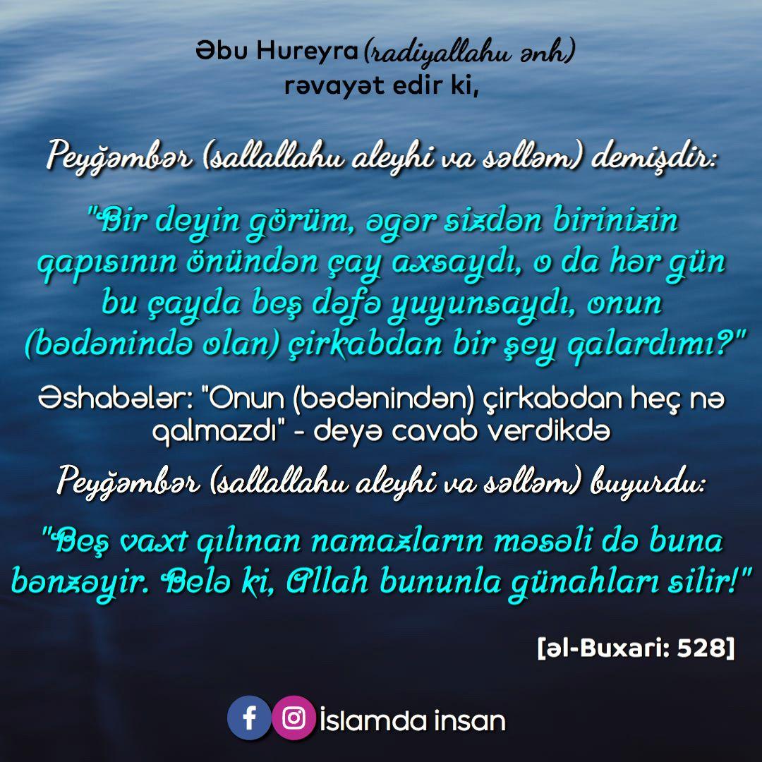 Bes Vaxt Namaz Gunahlari Silir Namaz Iman Islam