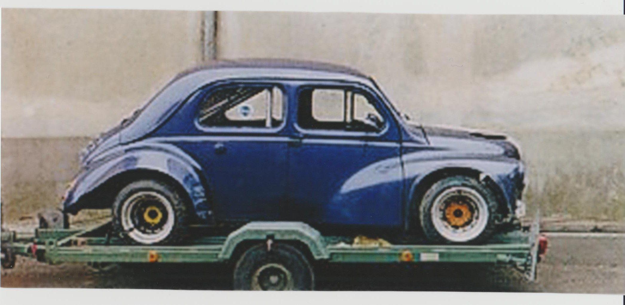 françois boyer Voiture, Renault