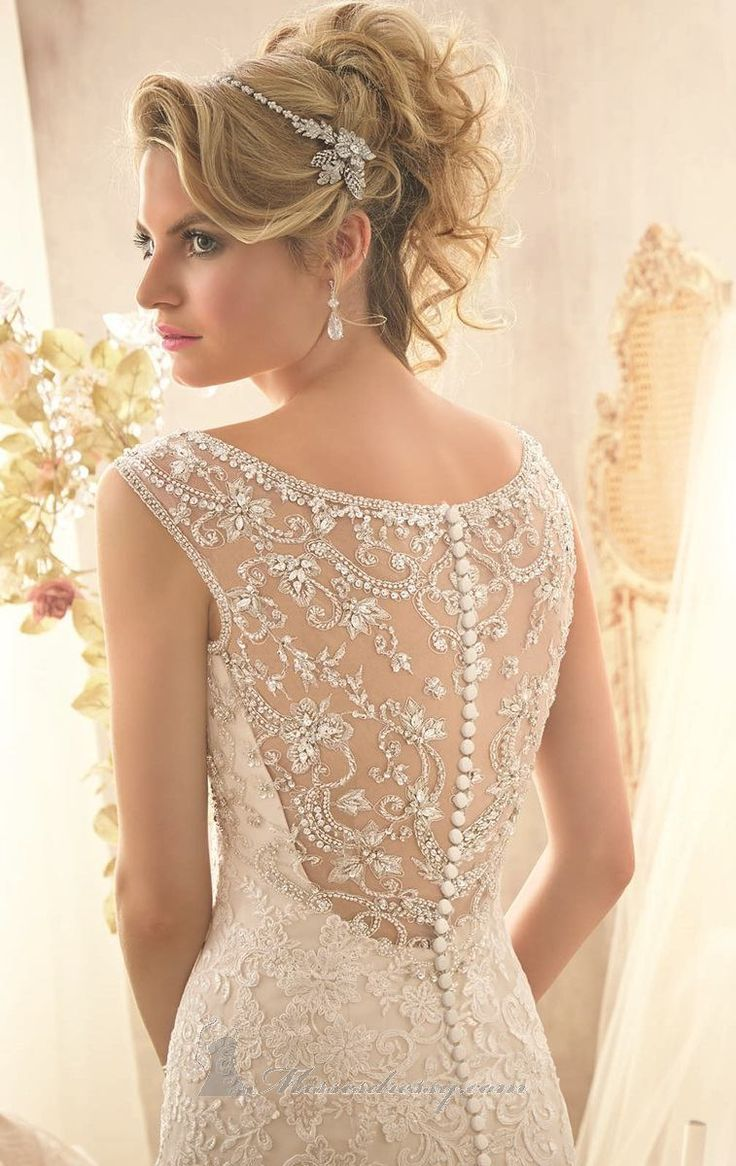 Beaded net gown by bridal by mori lee dress styles pinterest