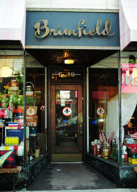 Quiet Life: My favorite store. Brimfield. On Clark. Chicago.
