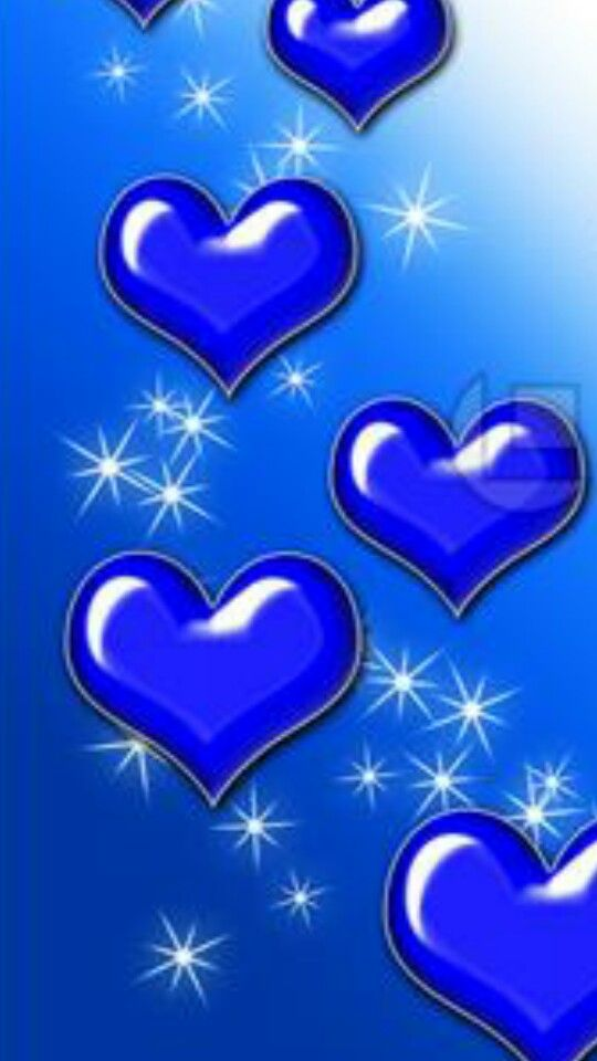 Pin By Kirsten On Color Me Blue And Other Colors Heart Wallpaper Glitter Phone Wallpaper Colorful Heart Blue wallpaper of love
