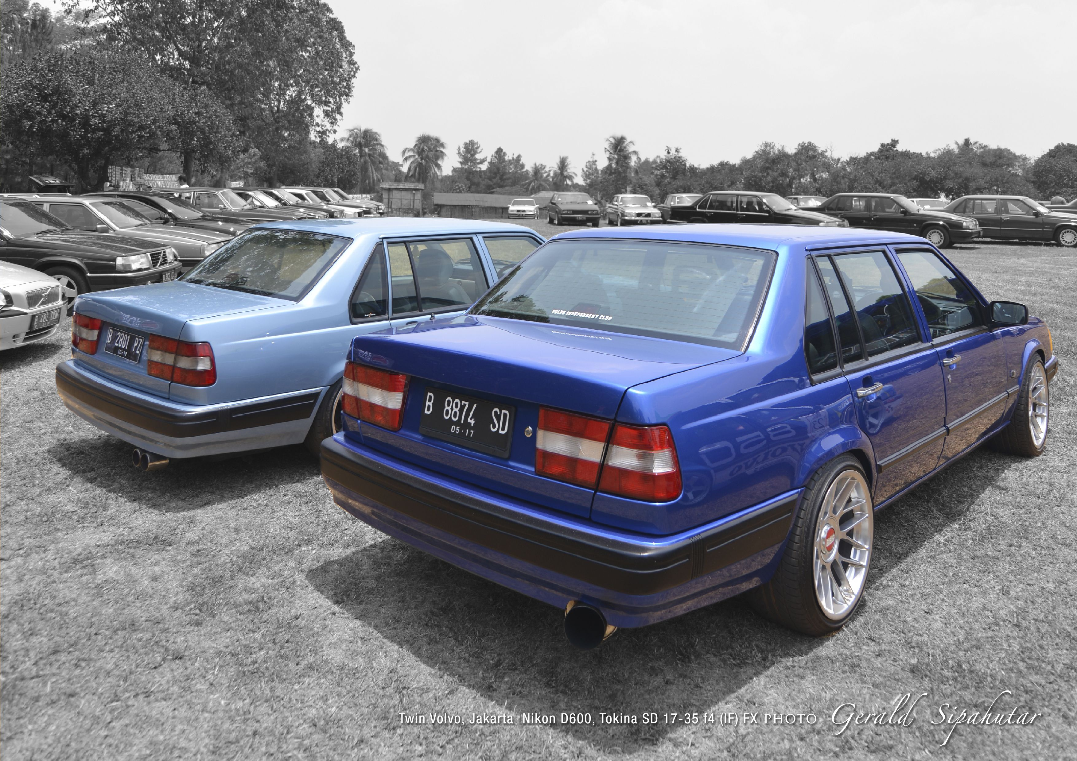 volvo 940 took this two beautiful volvo 940 series during indonesian volvo gathering on. Black Bedroom Furniture Sets. Home Design Ideas