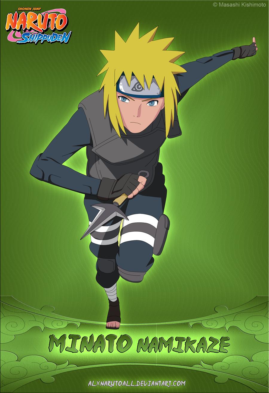 Minato Namikaze By Alxnarutoall On Deviantart Naruto Shippuden Characters Anime Naruto Naruto Shippuden