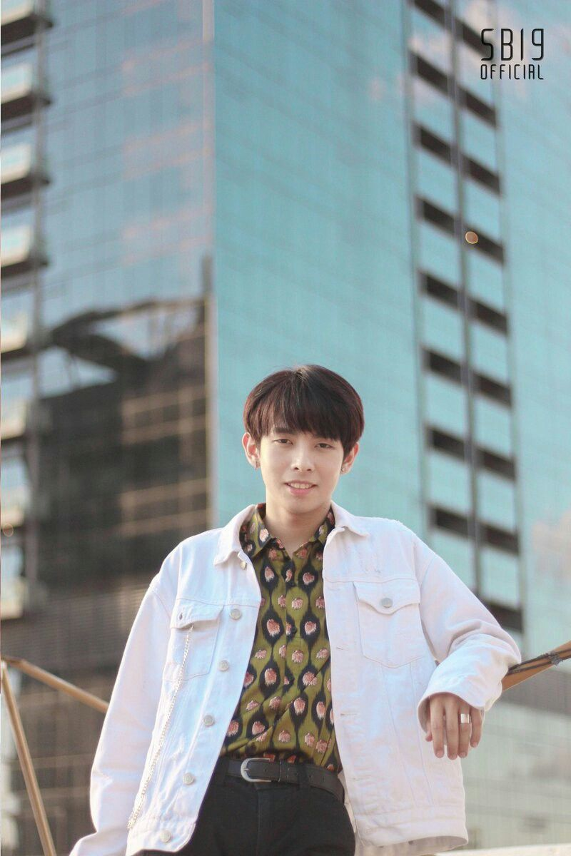 Justin De Dios From Sb19 P Pop Under Korean Entertainment In