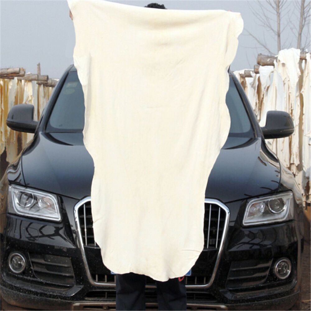 Cars Schrank Us Deals Cars Natural Shammy Chamois Leather Car Cleaning Towel