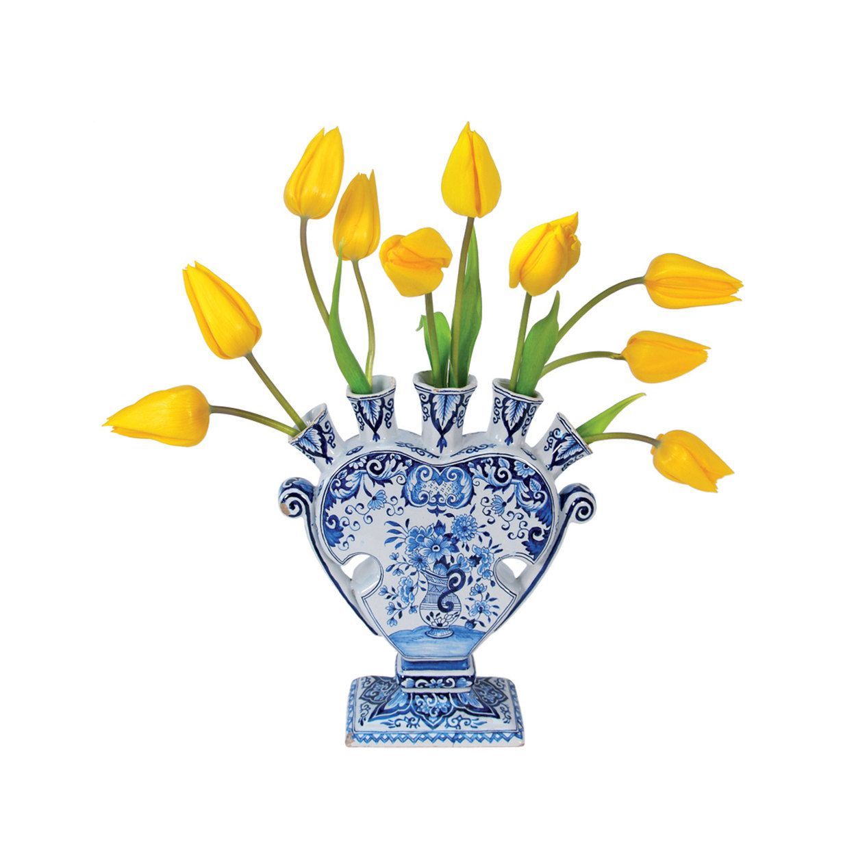 dutch, tulips, delft, delftware, tulipvase, home decor, decals