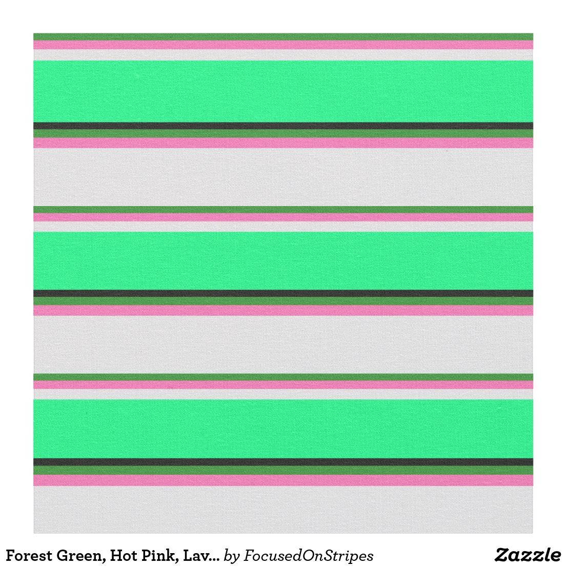 Forest Green Hot Pink Lavender Green Black Fabric In 2020 Fabric Black Fabric Eco Friendly Fabric