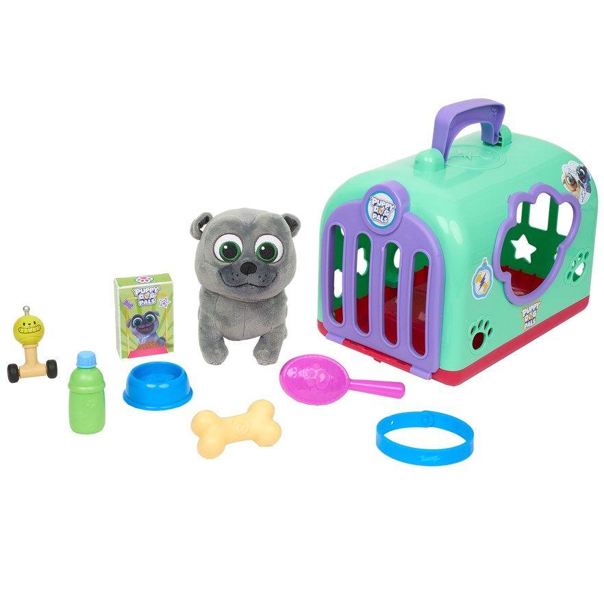 Disney S Puppy Dog Pals Bingo Groom And Go Pet Carrier Dogs