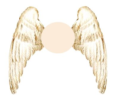 image detail for angel wings templates free donwload of pattern