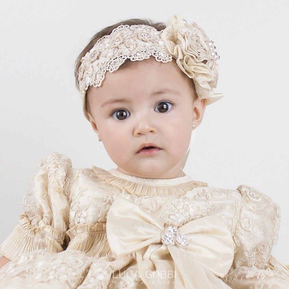 tiara tr accesorios para cabello de bautizo nia