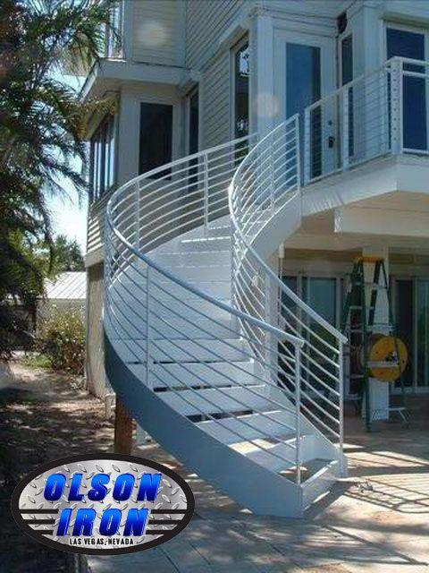 Best Iron Stairs Spirals Las Vegas Custom Wrought Iron 400 x 300