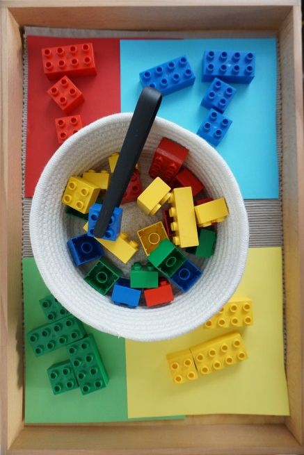 So lernen Kinder ganz spielerisch die Farben #preschoolers