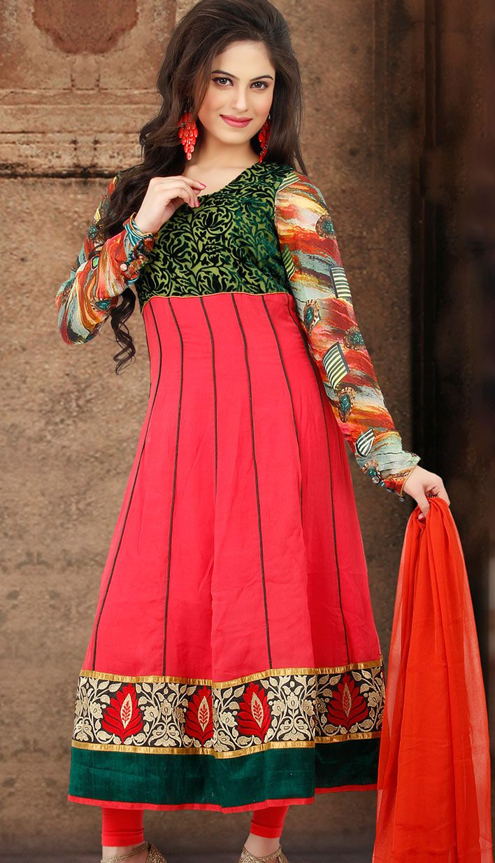 Efello offers latest designer Indian salwaar kameez for girls and ...