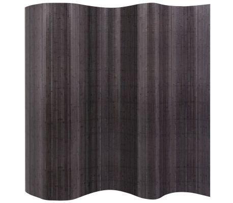 vidaXL Bambusscheibe grau 250x195 cm bei
