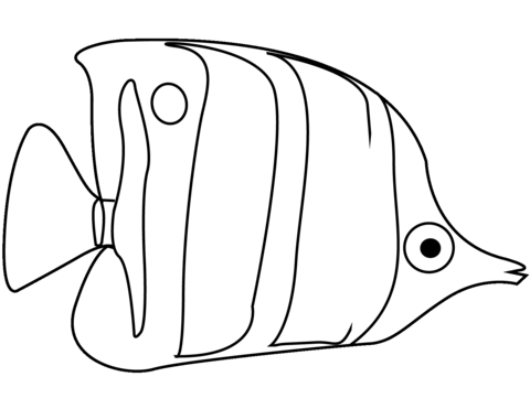 Angelfish Coloring Page Fish Coloring Page Coloring Pages Unicorn Coloring Pages