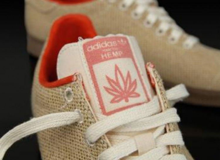 Hemp in the mainstream - Adidas hemp shoes