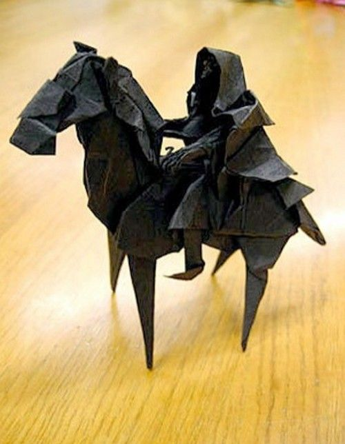 16 Totally Geeky Paper Origami Designs Nerdy Stuff Pinterest