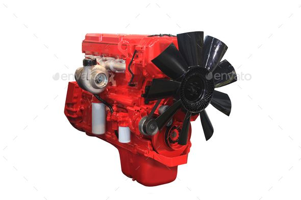 powerful diesel engine by ssp48. Close up shot of turbo diesel engine #Affiliate #engine, #diesel, #powerful, #turbo