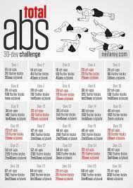 image result for 30 day ab challenge men athomeabworkout