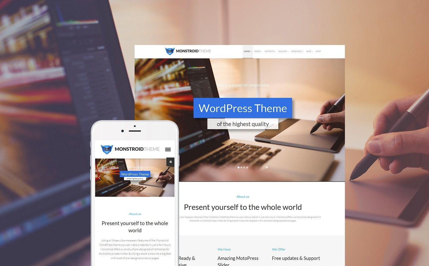 Buy 1 Get 50 Free Premium Wordpress Themes By Template Monster